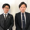株式会社HAMAYA 首都圏営業統括部 第二営業部 (左)高野 萩平 様 (右)大塚 悠右 様