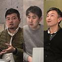 ハウスデザイン株式会社 (左)設計士/工務・リーダー 武田 浩和 様(中)代表取締役 梅津 直樹 様(右)設計士/アドバイザー・工務 奥山 秀信 様