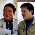 株式会社楓工務店 (左)代表取締役 田尻 忠義 様 (右)工事部 渡邊 健 様
